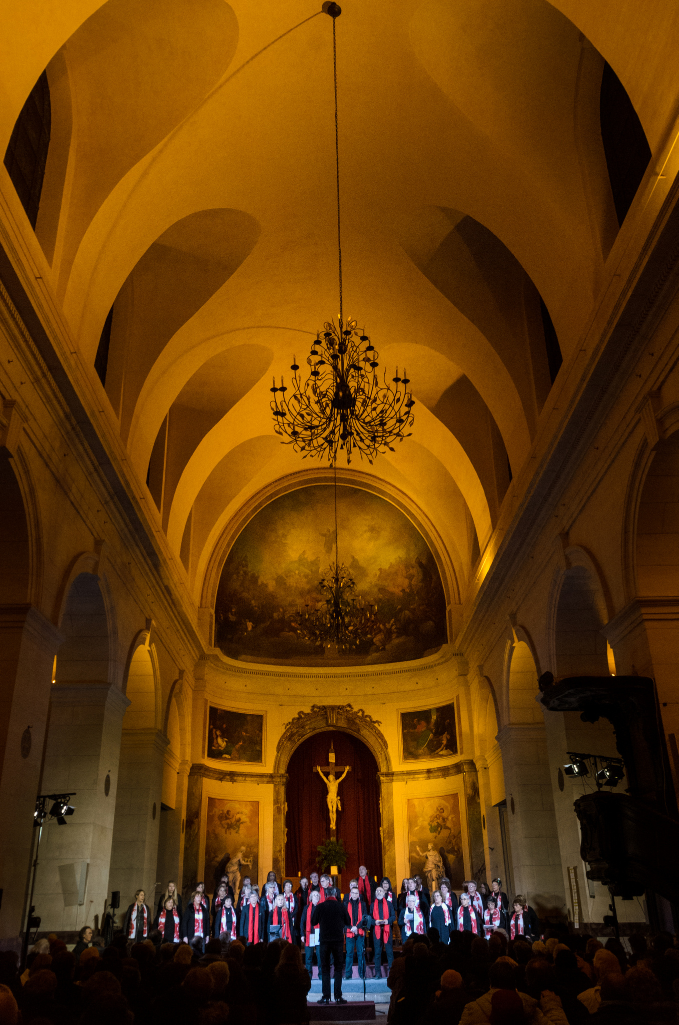 """Concert """"Noël des 4 coins du Monde"""" - Chorale Atout Choeur, Chorale Saint André - Cathédrale Saint-Louis-et-Saint-Nicolas de Choisy-le-Roi, 16 décembre 2017"""