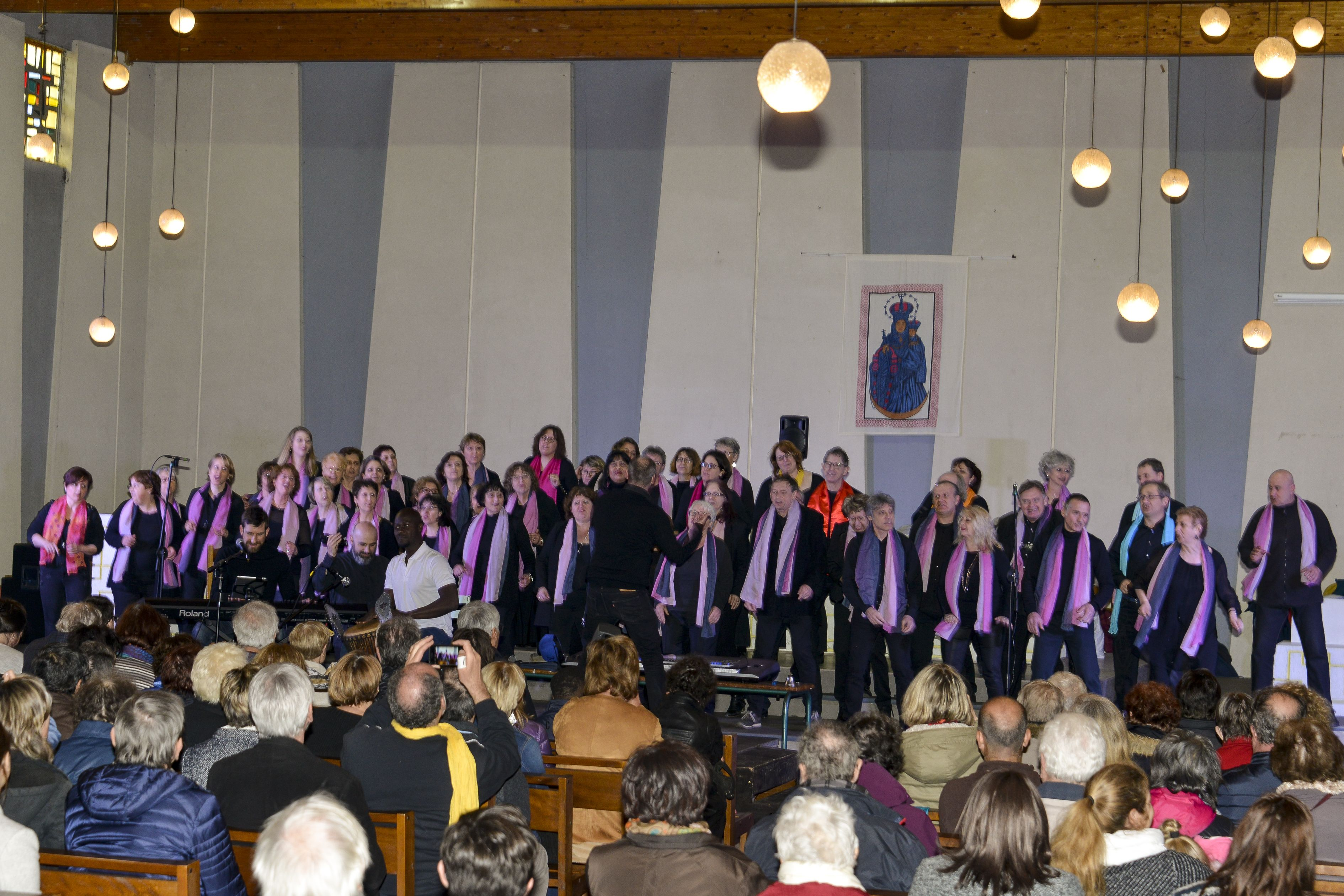 chorale Atout Chœur , 11-03-2018, Choisy le Roi